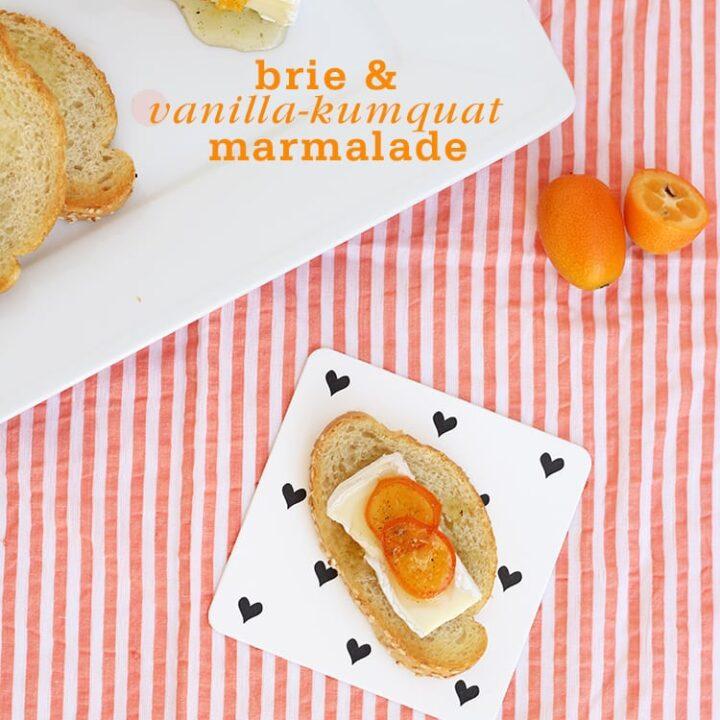 Brie Kumquat Marmalade