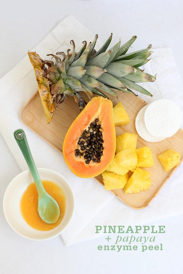Pineapple Papaya Enzyme Peel