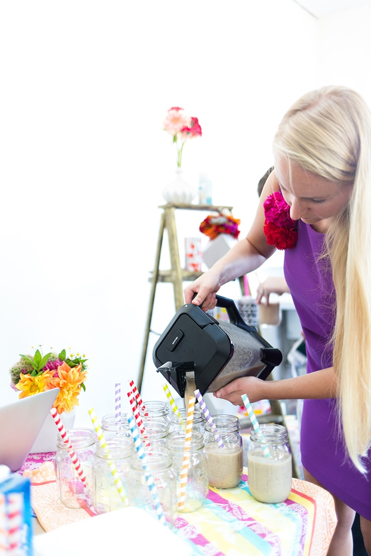 Freutcamp Summer 2014 Almond Breeze Smoothie Bar Freutcamp Summer 2014 Recap