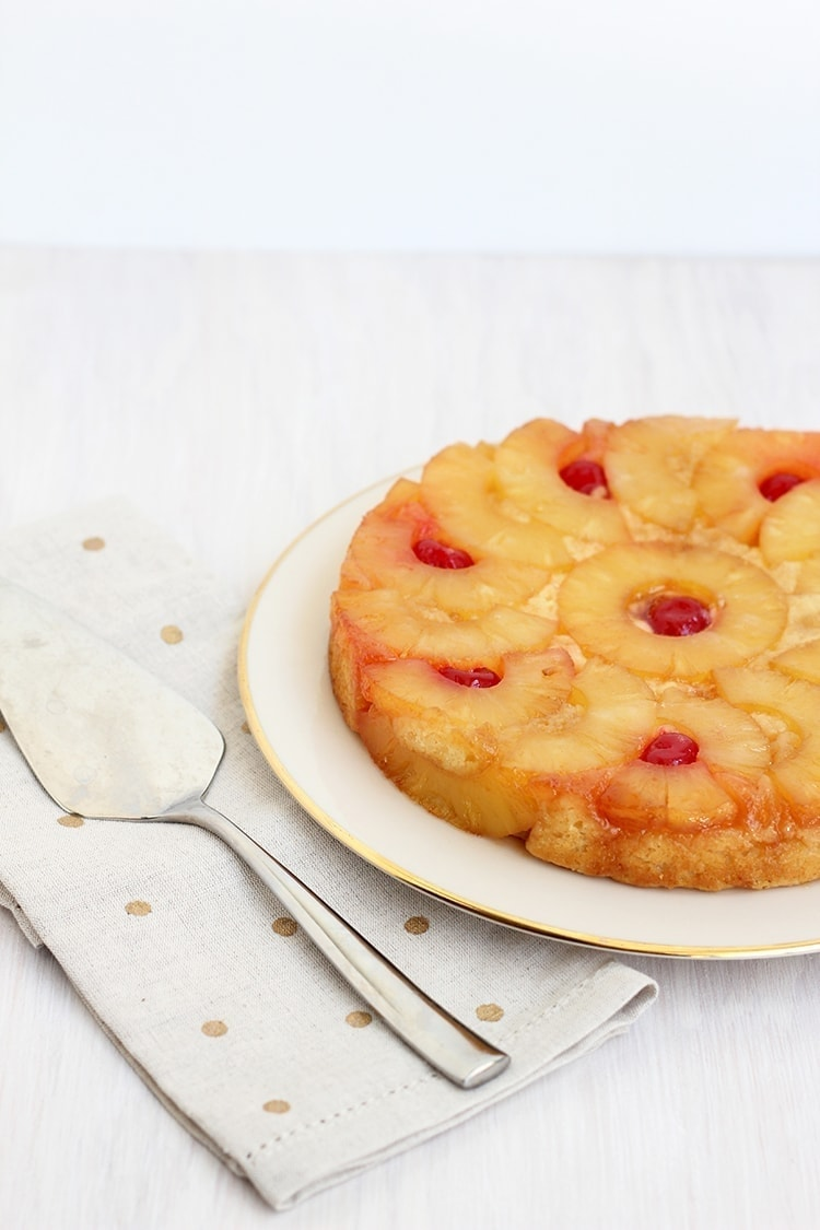 Pineapple Upside Down Cake 1 Pineapple Upside down Cake