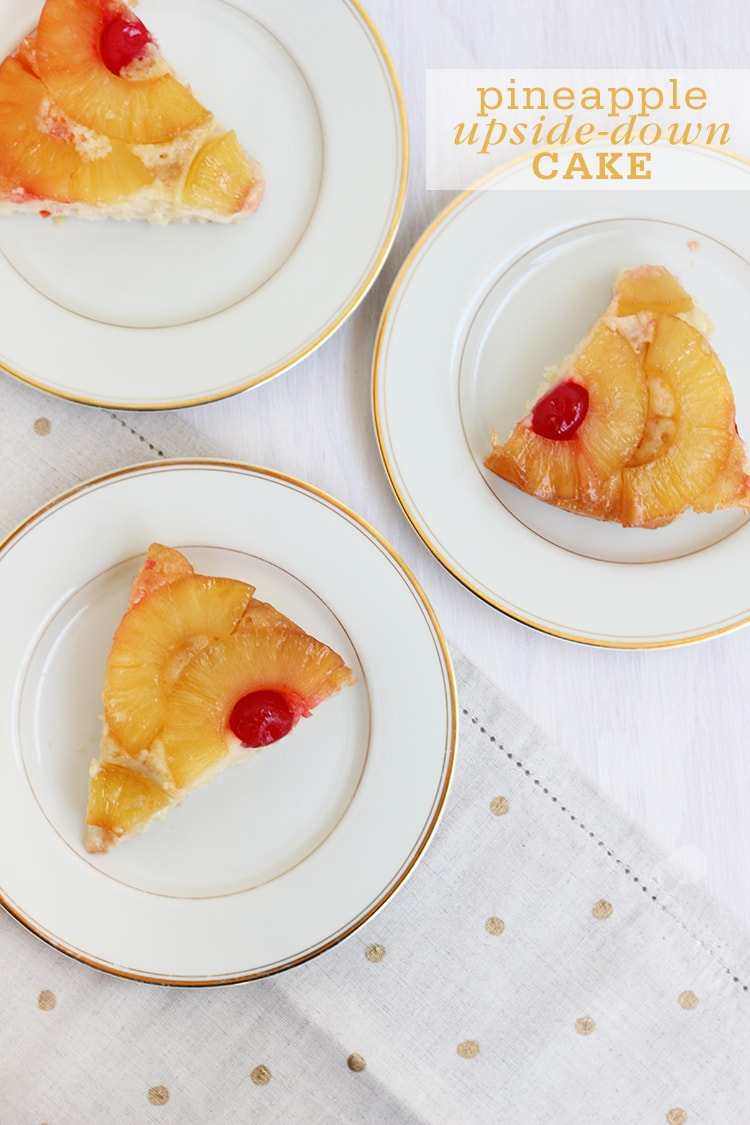 Pineapple Upside Down Cake Pineapple Upside down Cake