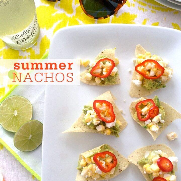 No-Cook Summer Nachos