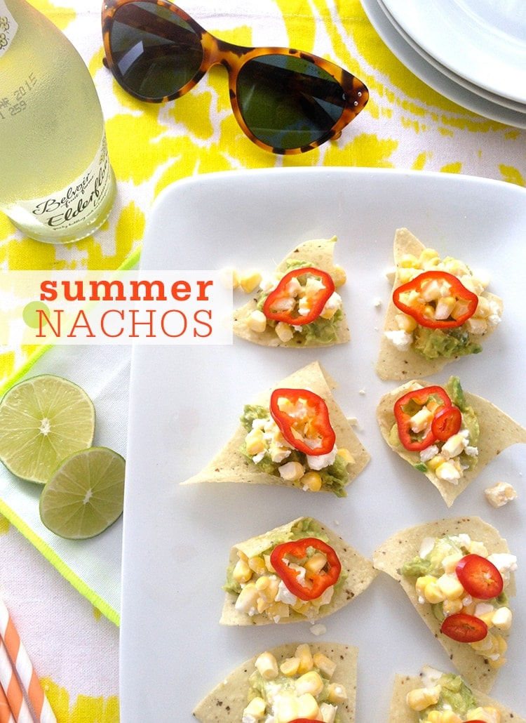 Summer Nachos No Cook Summer Nachos
