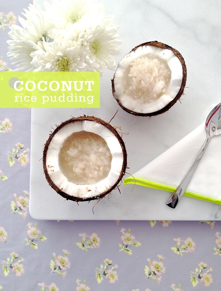 Coconut Rice Pudding 5 Ingredient Coconut Rice Pudding