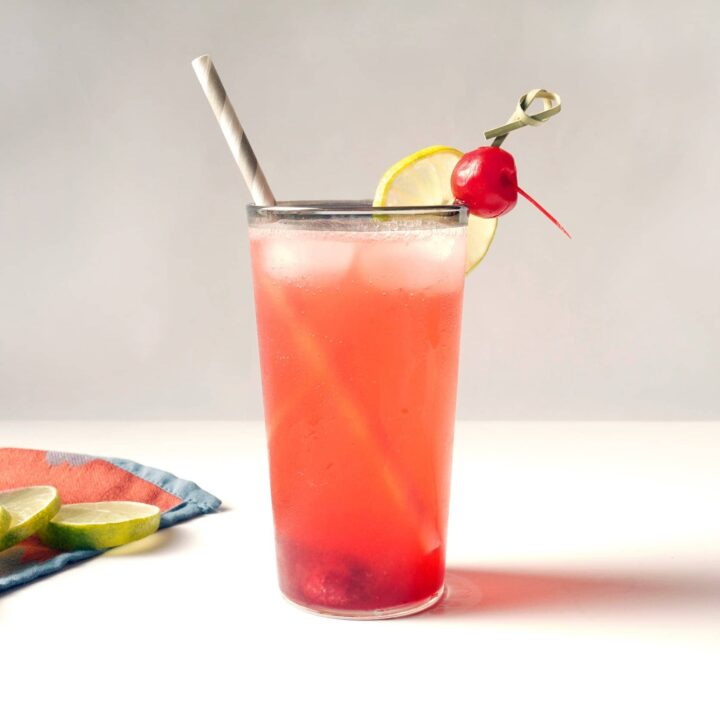 The Rickey Sling Cocktail