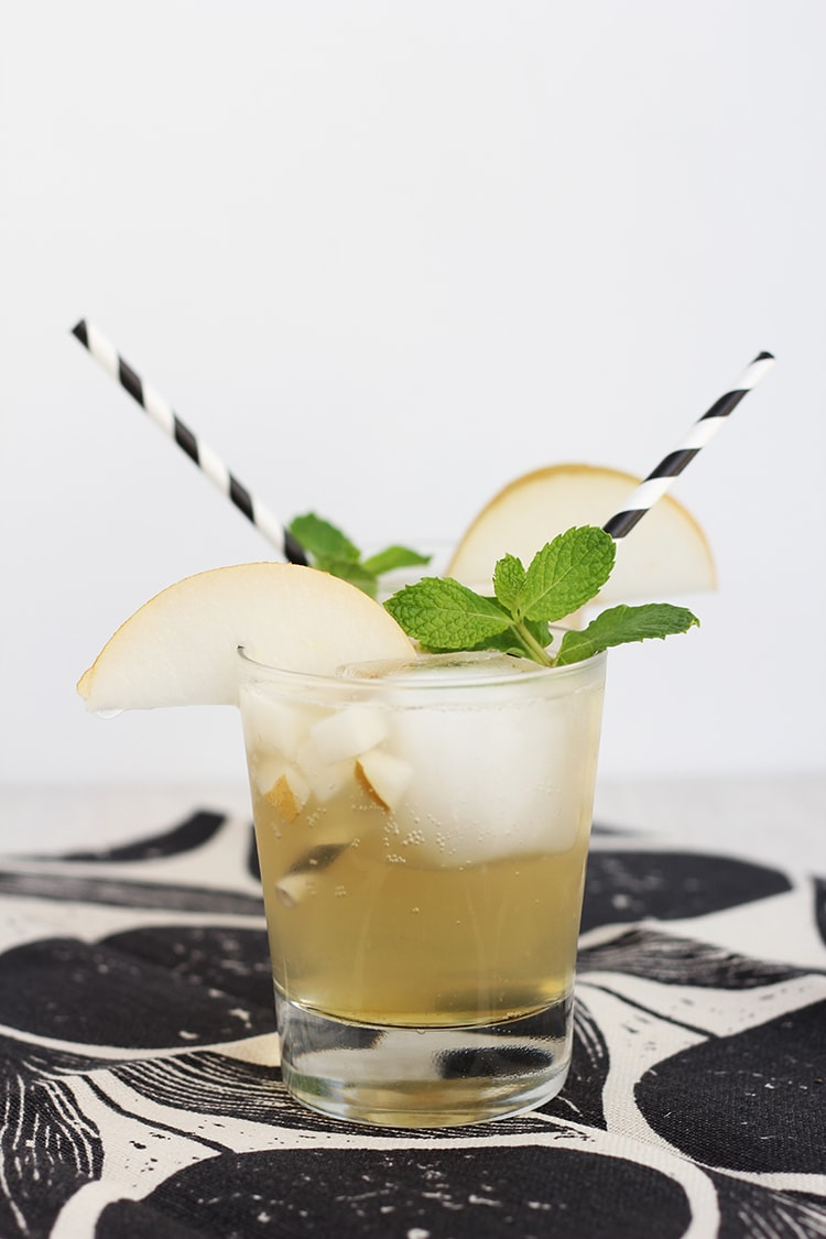 Asian Pear Cocktail