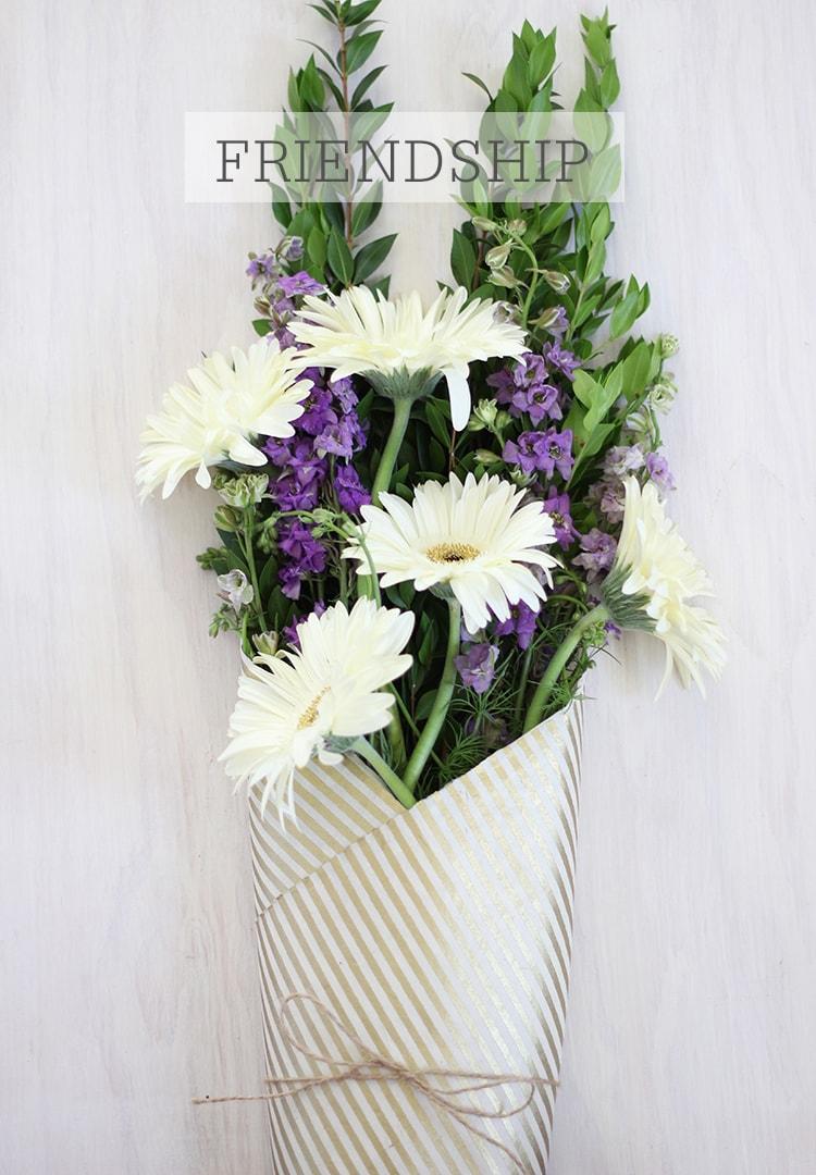 Friendship Bouquet A Meaningful Bouquet