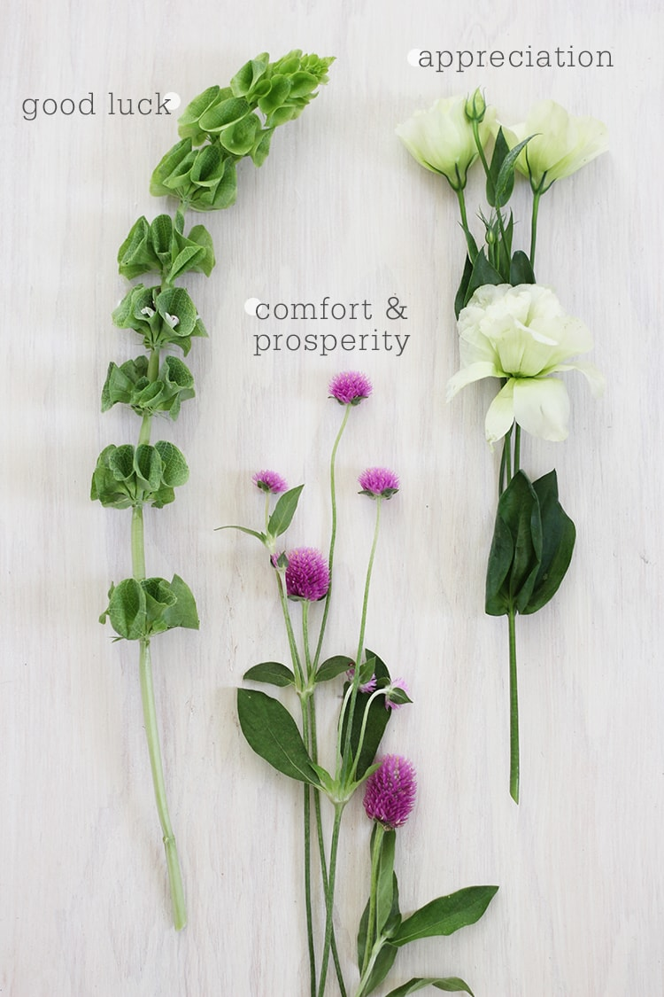 Gratitude Bouquet Recipe A Meaningful Bouquet