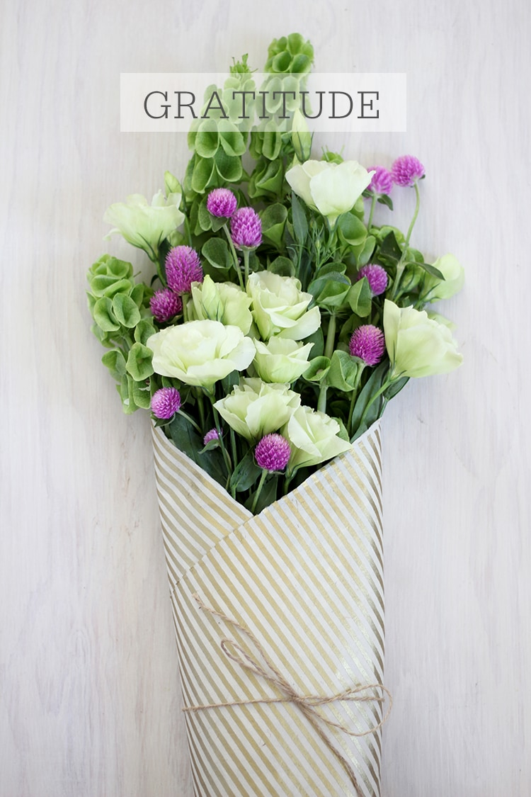 Gratitude Bouquet A Meaningful Bouquet