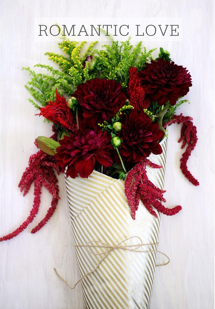 Romantic Love Bouquet A Meaningful Bouquet