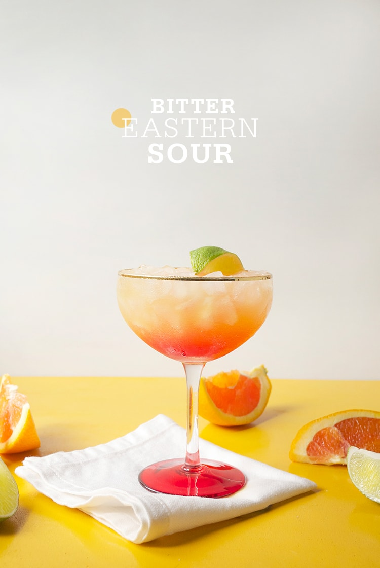 bitter eastern sour Bitter Eastern Sour Cocktail
