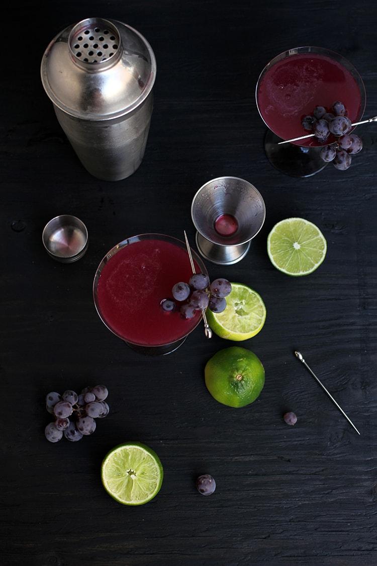 Black Concord Martini