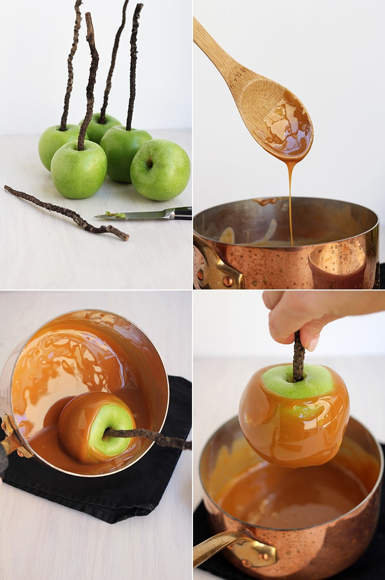 Easy Caramel Apple Easy Wormy Caramel Apples