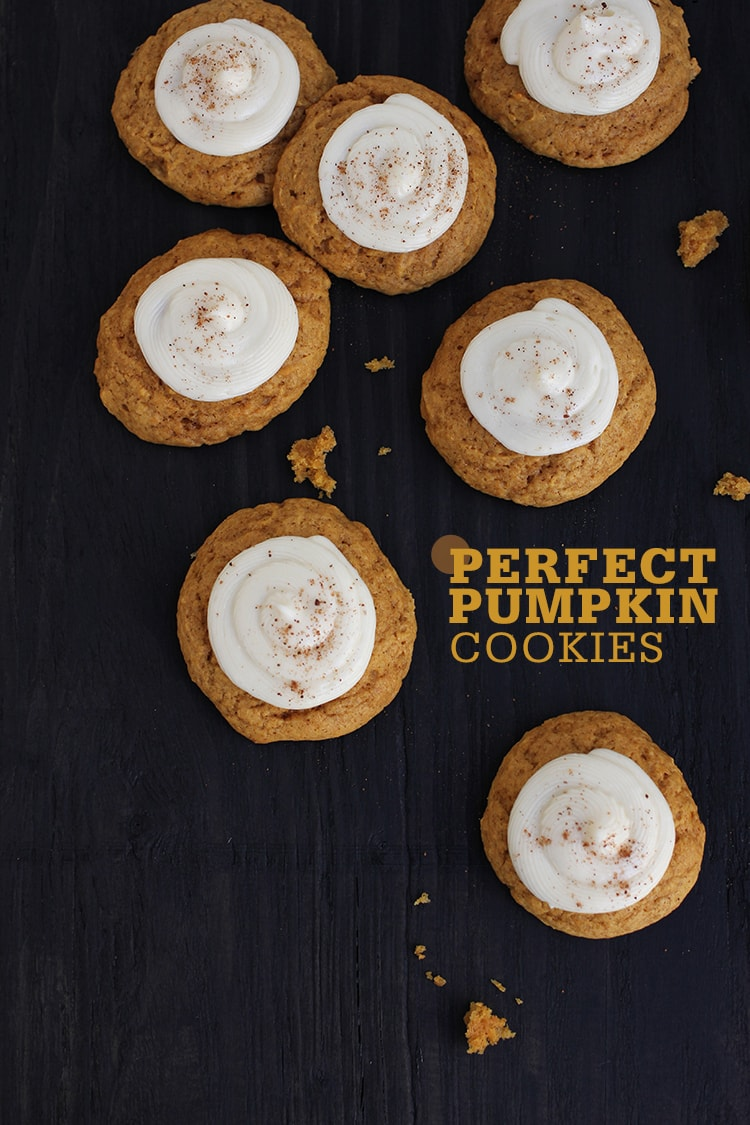 Perfect Pumpkin Cookies 1 Perfect Pumpkin Cookies