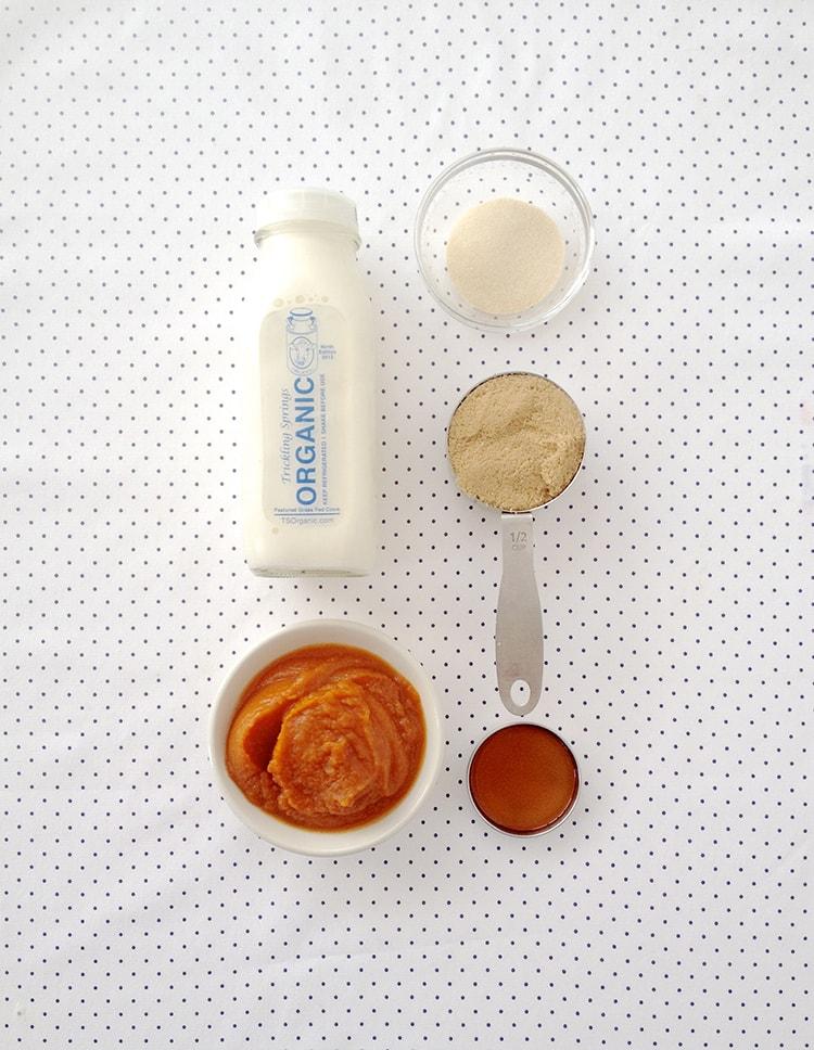 Pumpkin Panna Cotta Ingredients Pumpkin Pie Panna Cotta