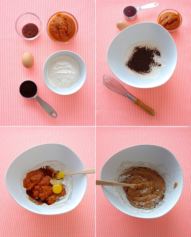 Pumpkin Spice Latte Waffles
