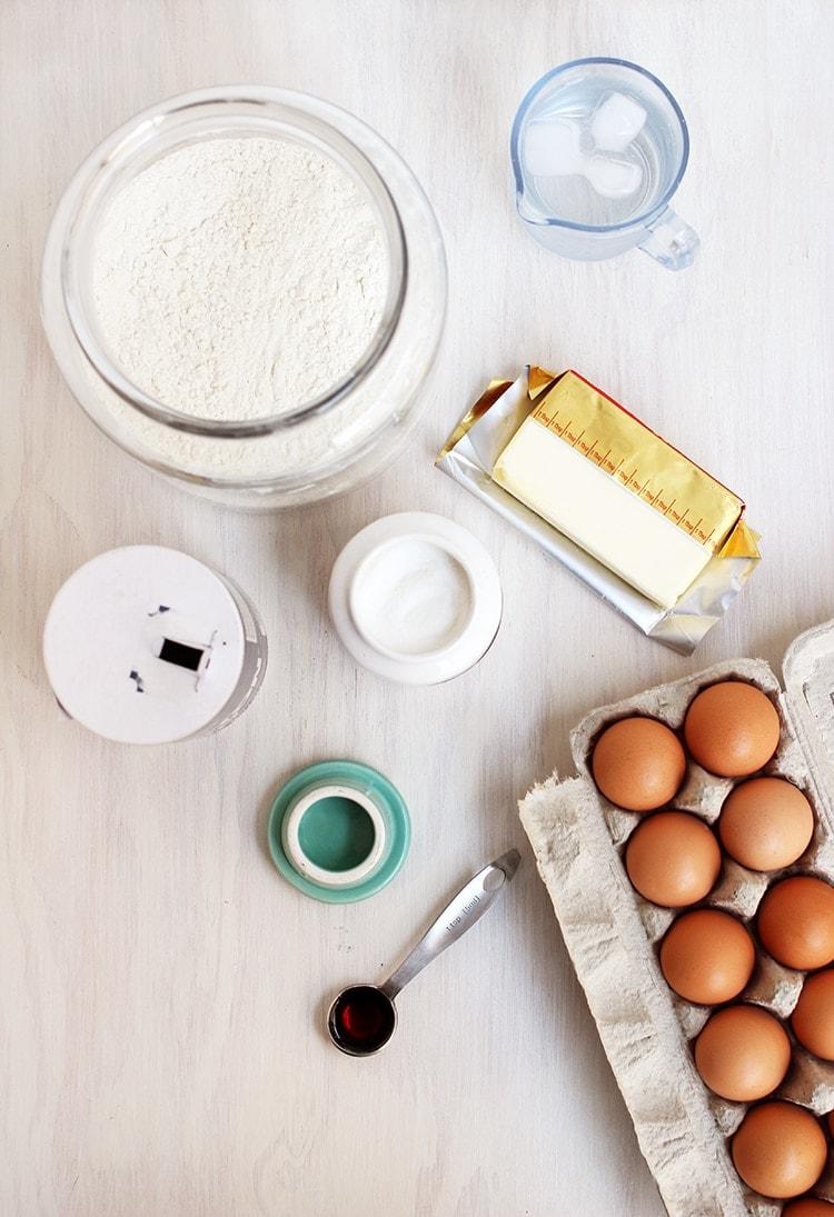 Sweet Pie Pastry Ingredients How To: Sweet Pie Crust