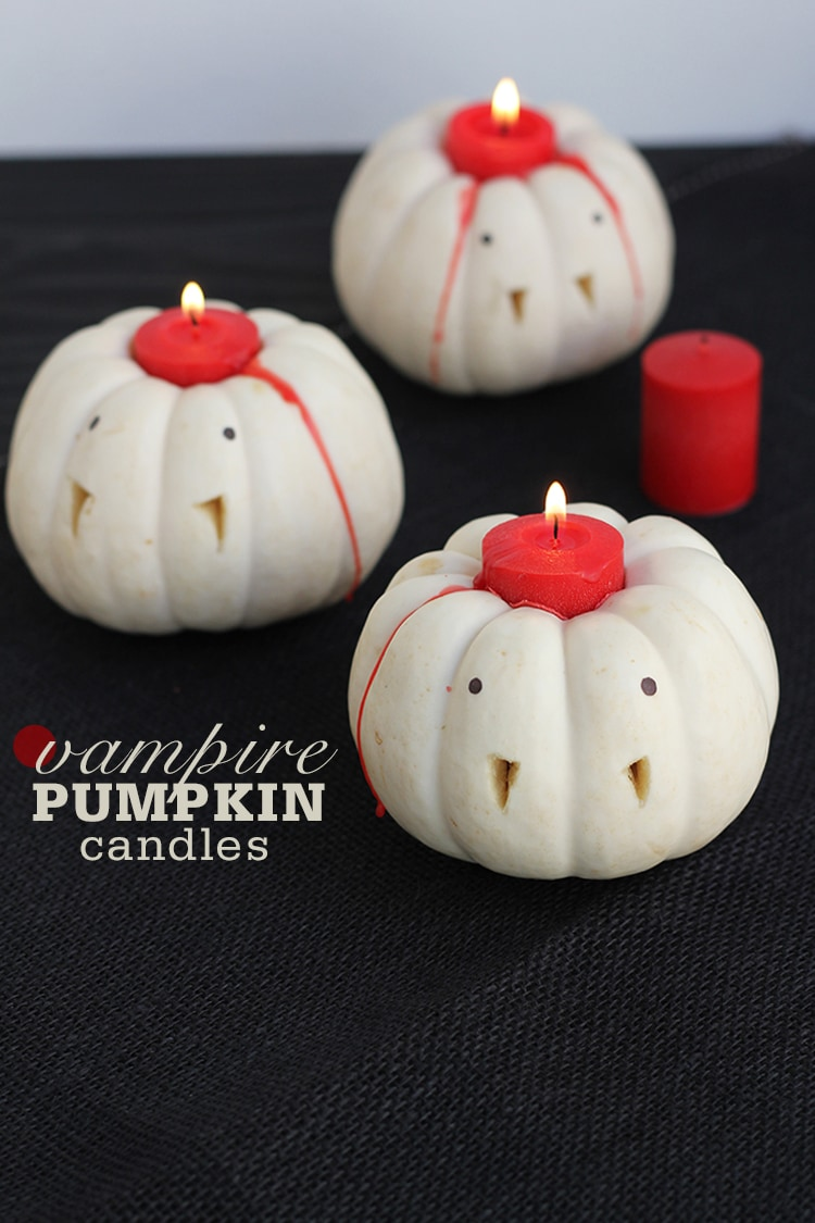 Vampire Pumpkin Candles Vampire Pumpkin Candles