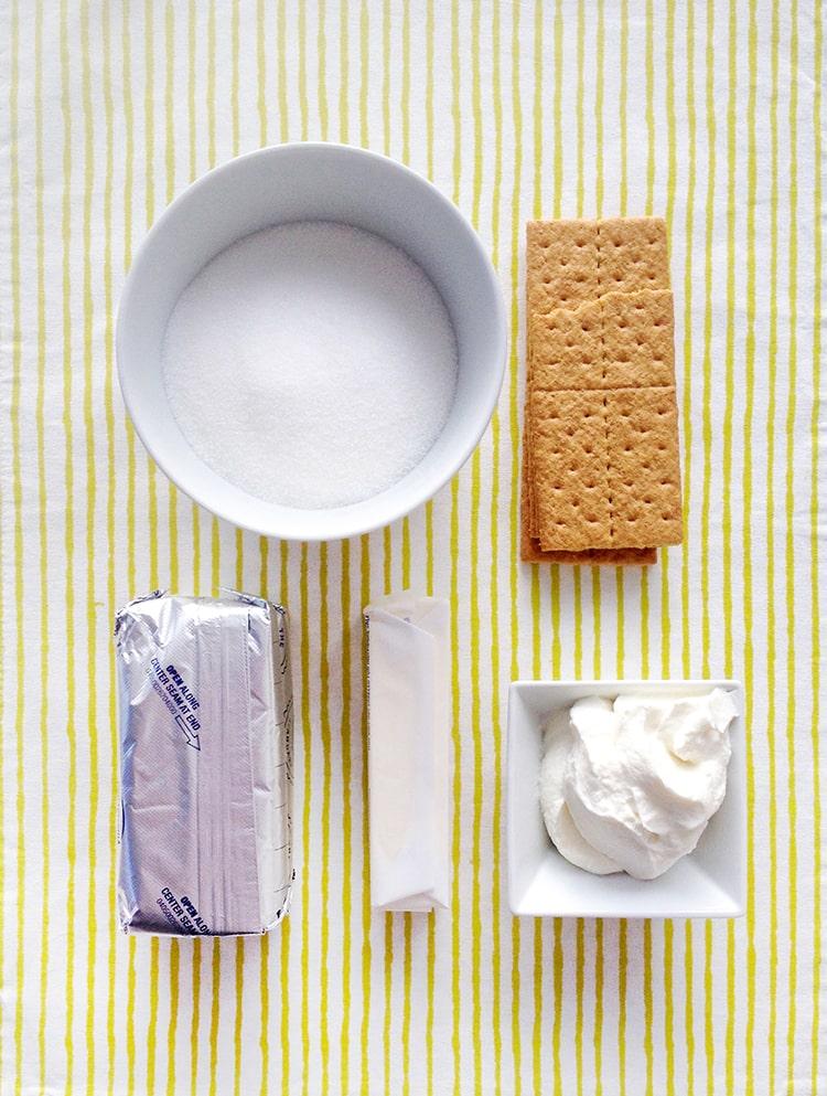 5 Ingredient No Bake Caramel Cheese Cake Ingredients No Bake Salted Caramel Cheesecakes