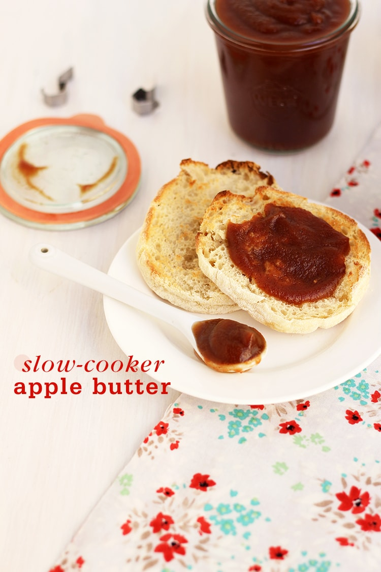 Slow-Cooker Apple Butter | Freutcake