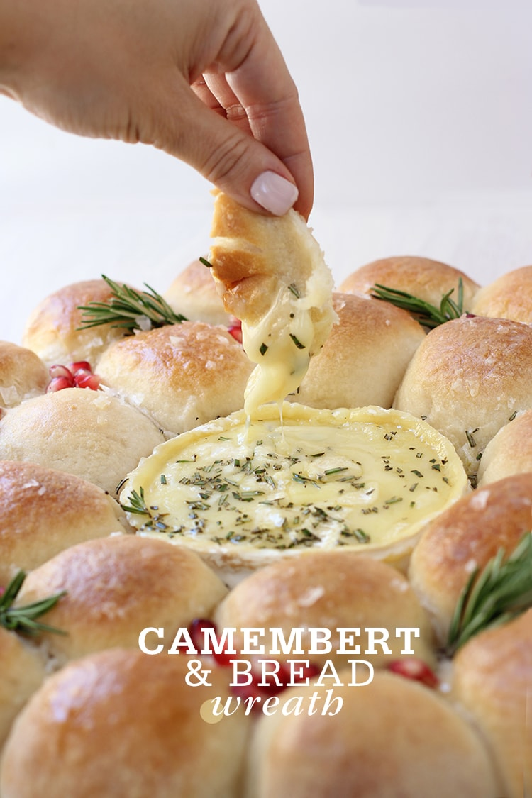 Camembert Bread Wreath