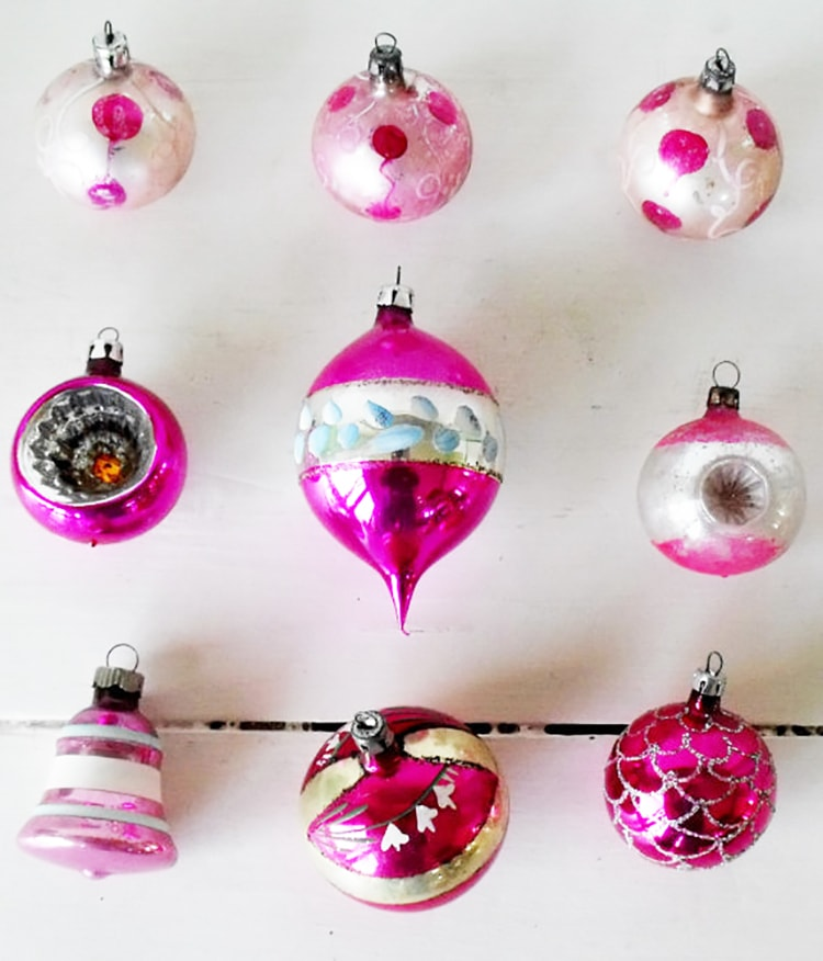 The Gallery For Vintage Christmas Ornaments