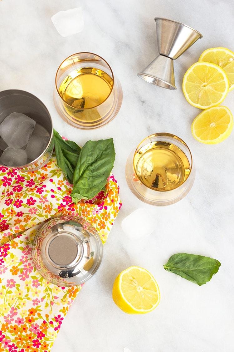 Fleur de lis Cocktail