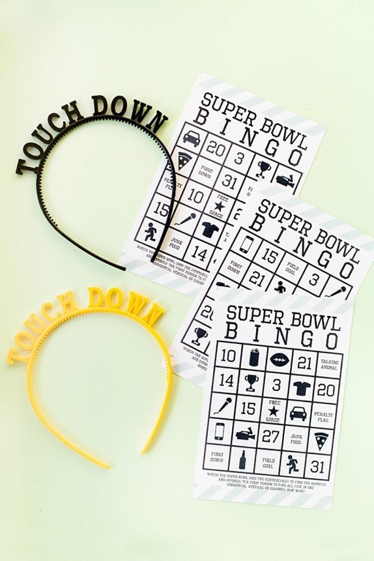 Super-Bowl-DIY-BINGO