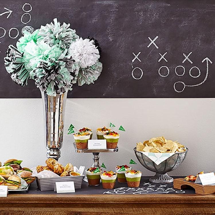 Super Bowl DIY Chalkboard