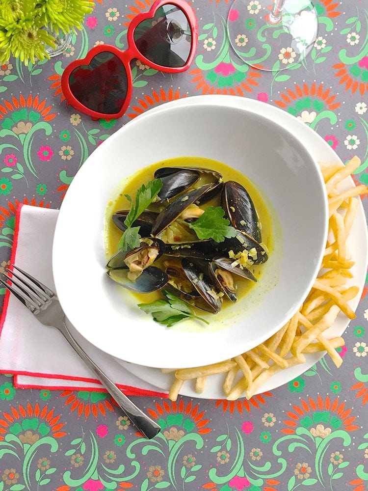 5-Ingredient Bistro Style Moule Frites