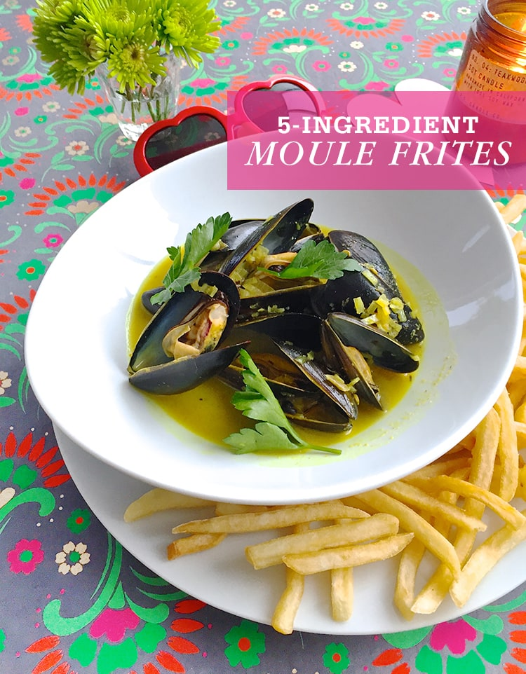 Bistro-Style Moule Frites