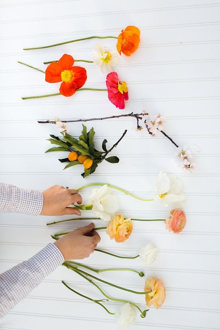 February Floral Recipe