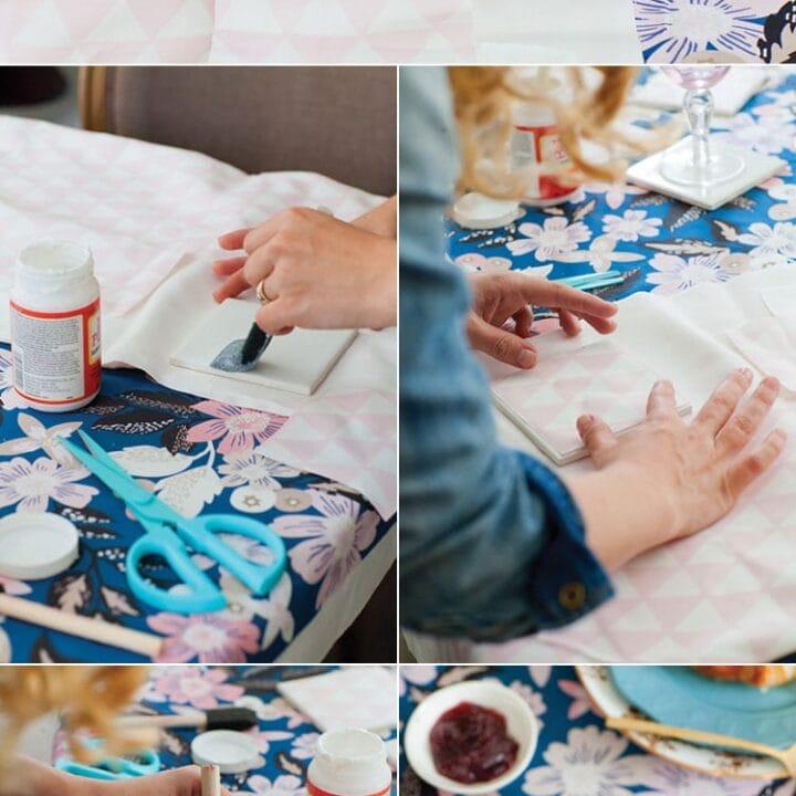 Fabric Coaster DIY