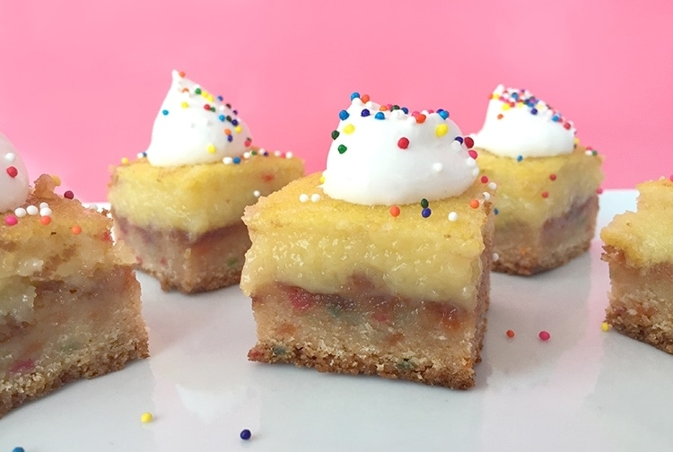 Funfetti Lemon Bars