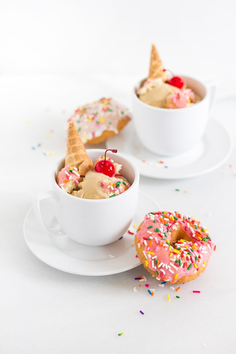 Coffee and Donut Ice Cream