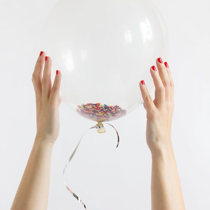 DIY Funfetti Balloons