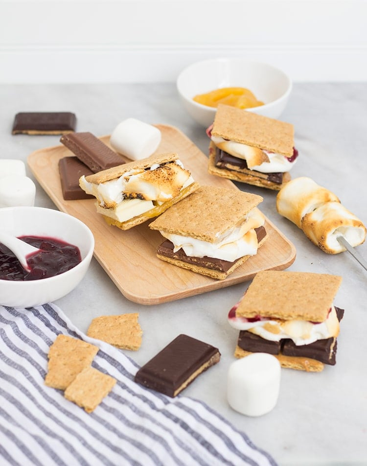 Fancy Smores Three Way