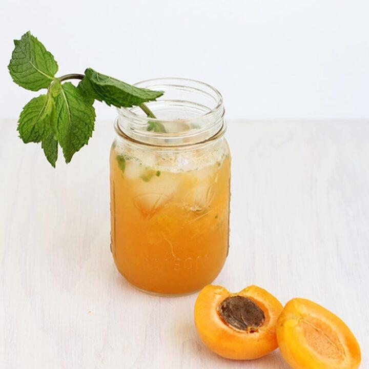 Apricot Bourbon Smash