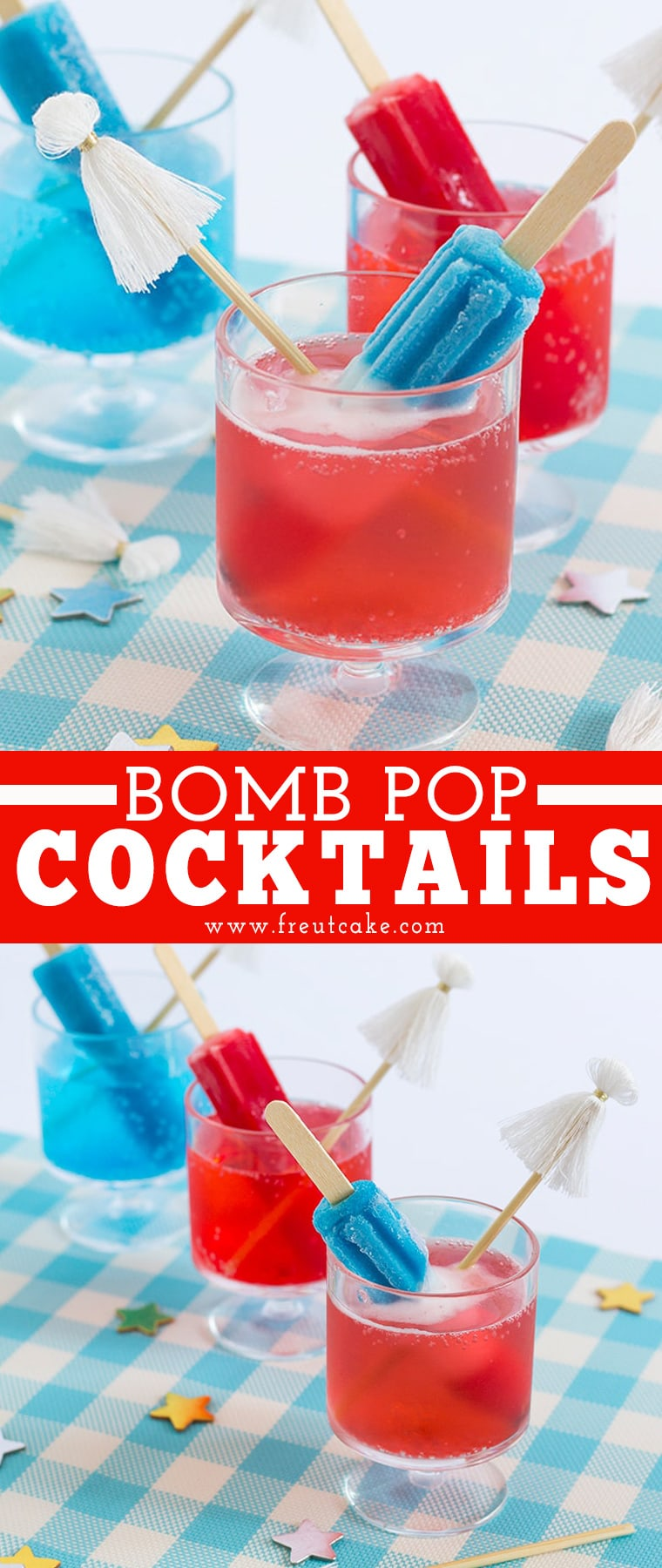 BOMB Pop cocktails