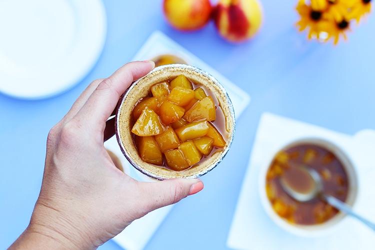 Mini Peach Bourbon Pies 2