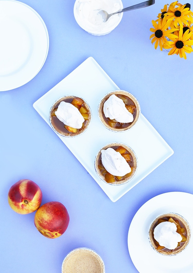 peach Bourbon Tarts Mini 4
