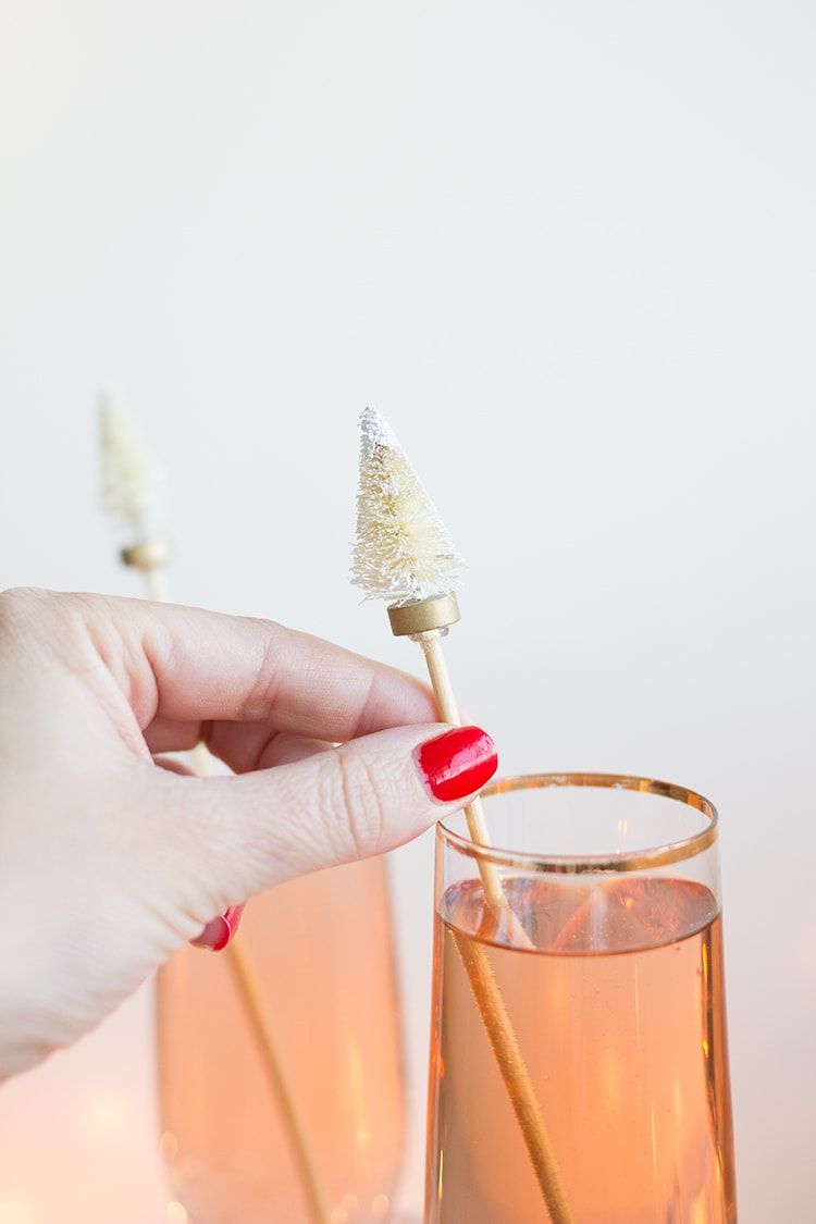 Christmas Tree Stir Sticks