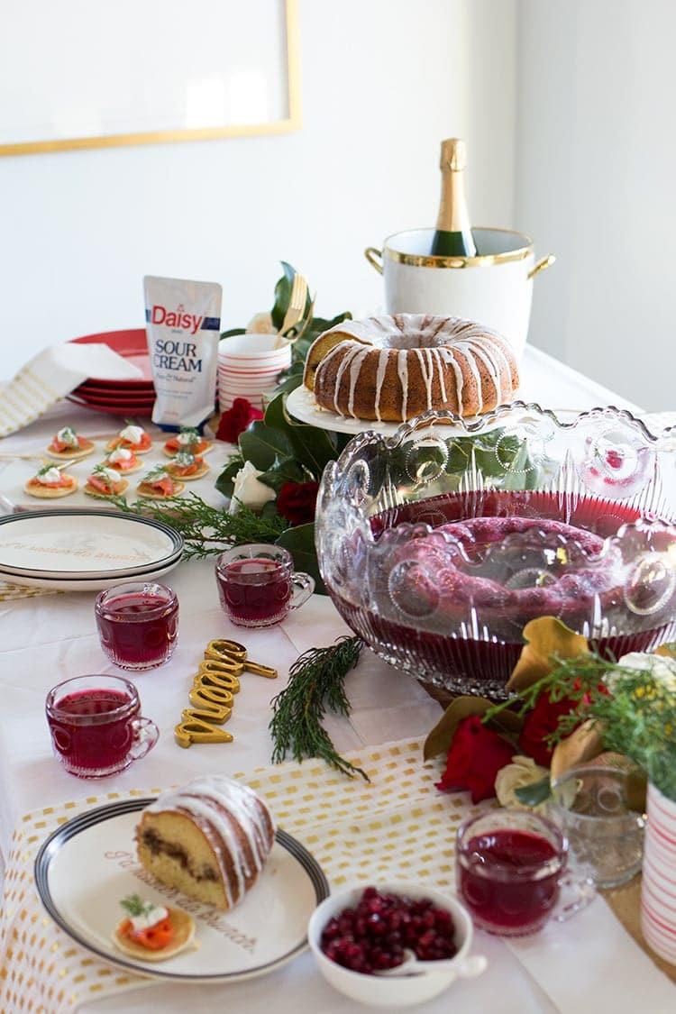 New Year's Day Brunch - Freutcake