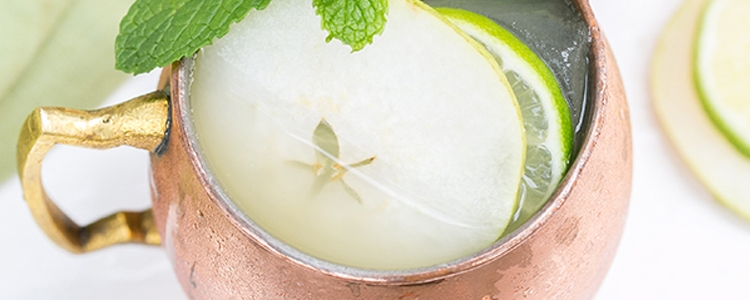 Pear Irish Mule Cocktail