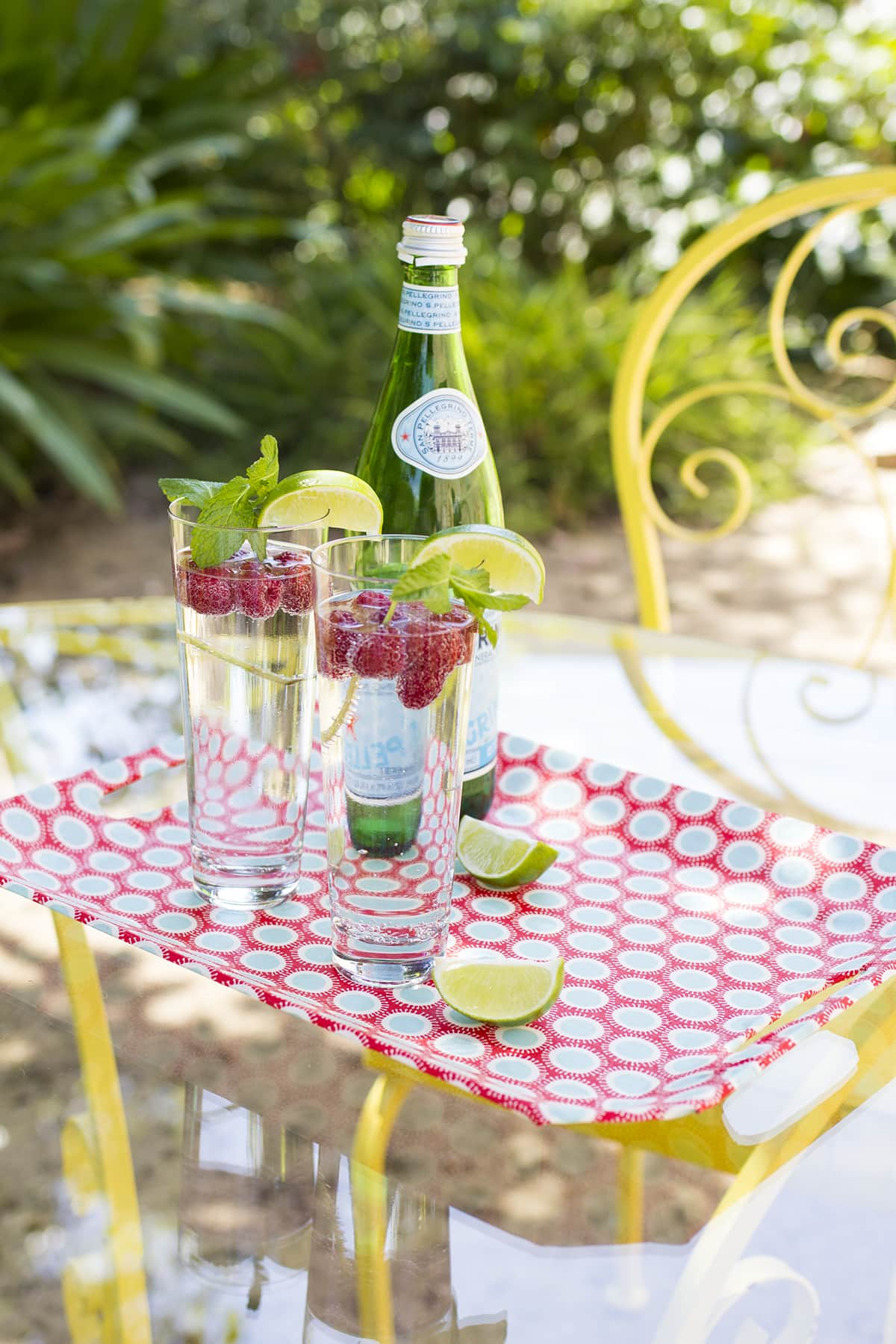Fabric Covered Drink Trays