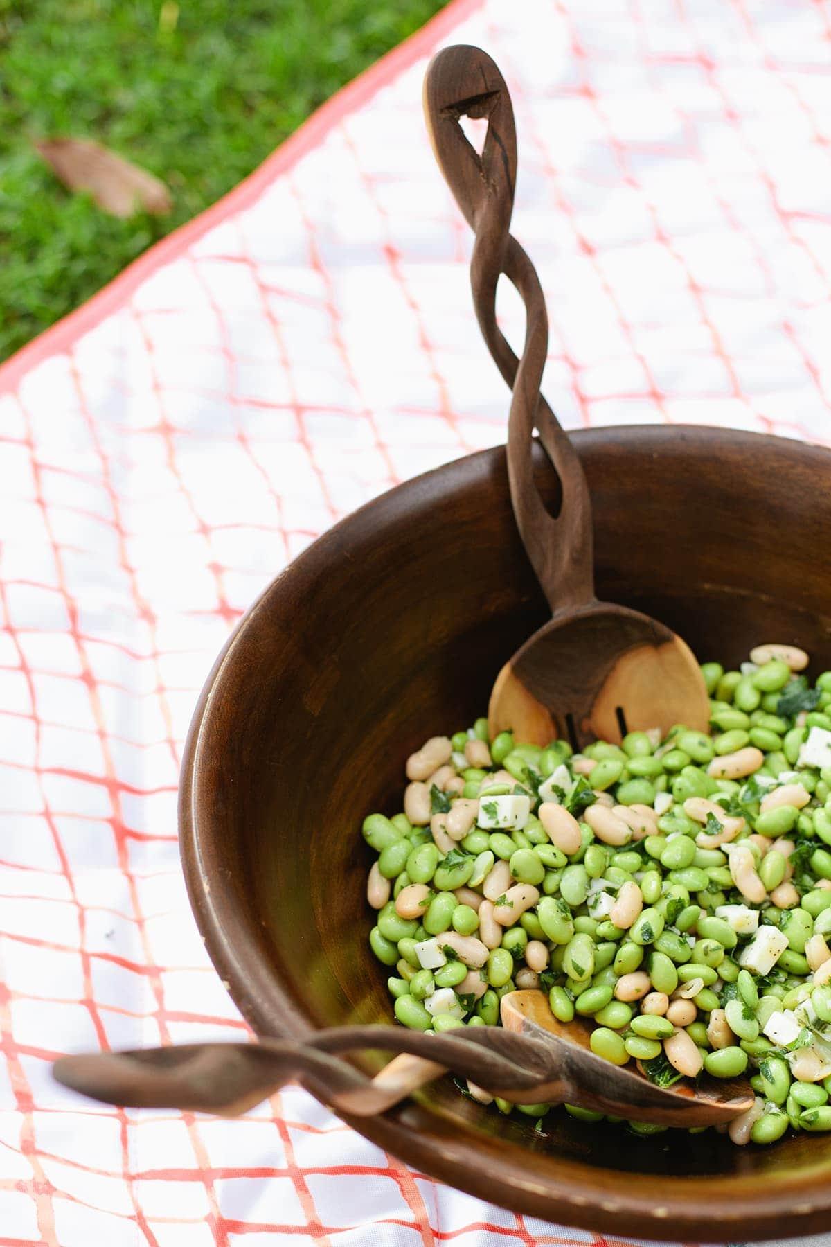 Edamame & White Bean Salad