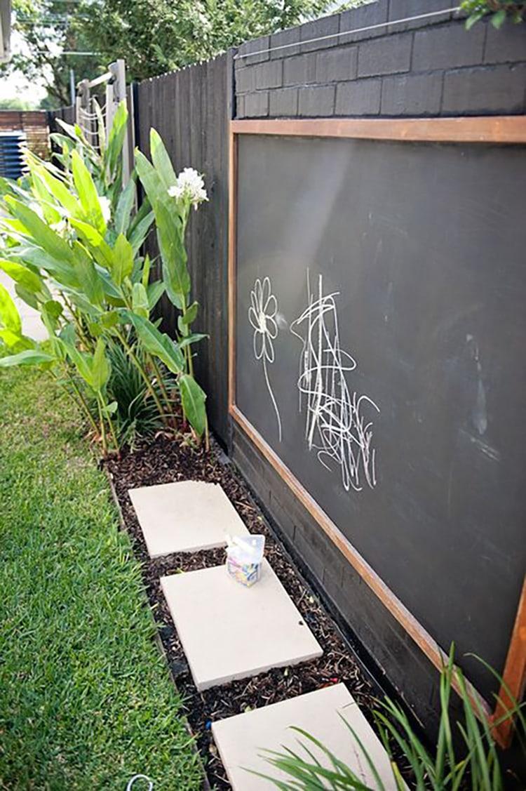 Backyard Kidspaces Chalkboard