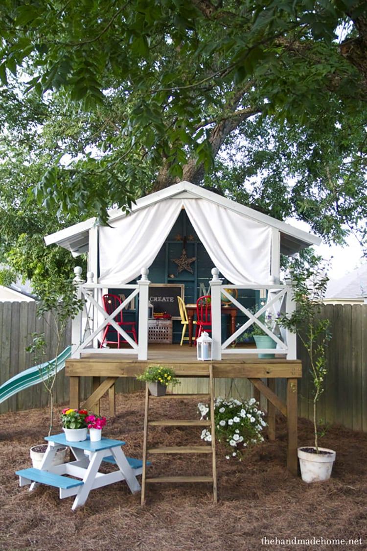 Backyard Kidspaces Clubhouse
