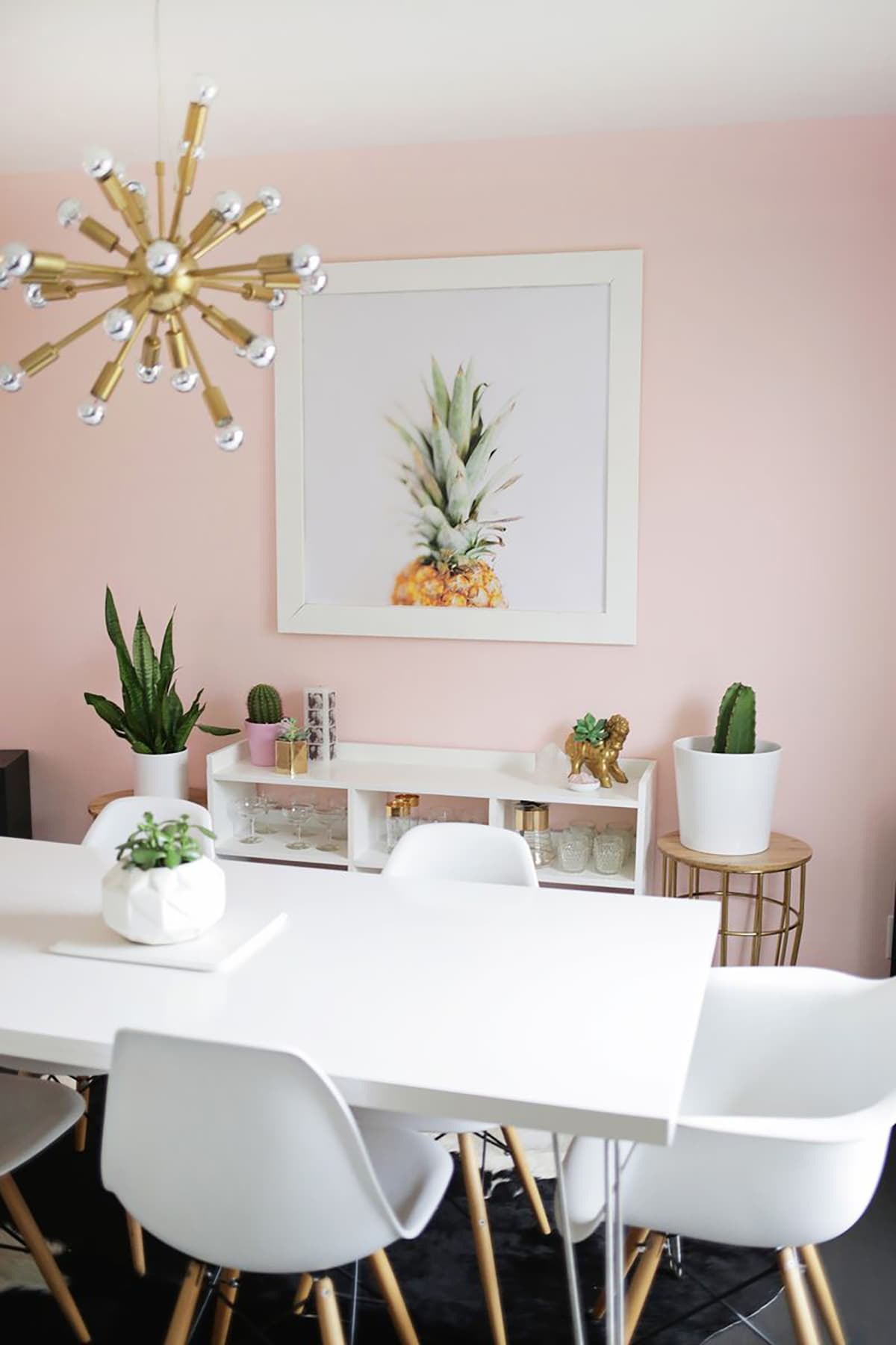 - A Pale Pink Dining Room - Freutcake