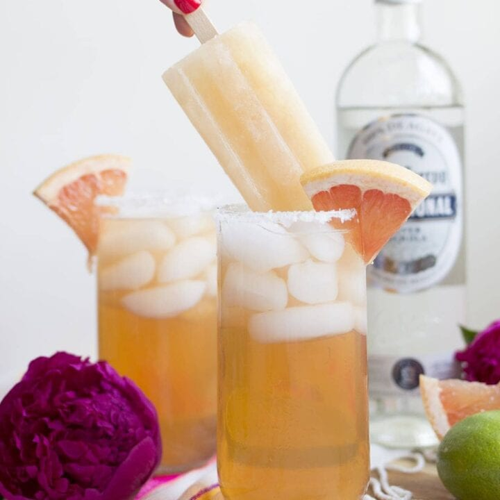 Classic Paloma Cocktails